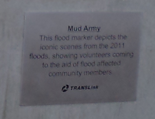 Mud Army plaque