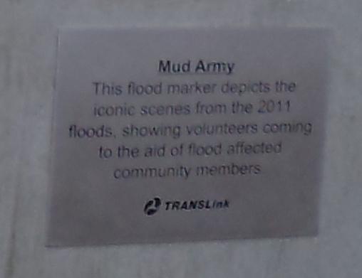 Mud Army plaque