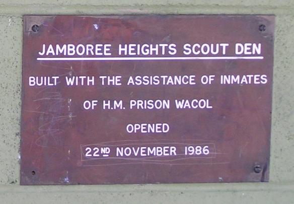 Scout Den Plaque