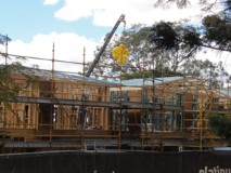 Sinnamon Farm update August 2014 insulation for new house (CDH/CSHSoc)