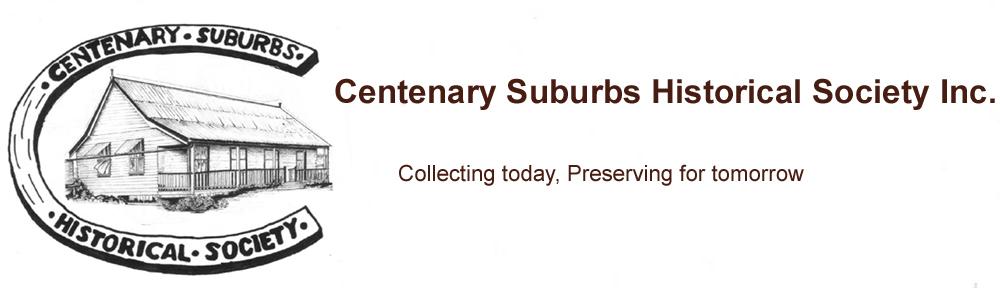 Centenary Suburbs Historical Society